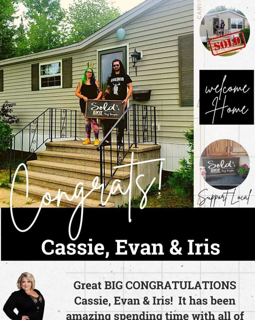 Cassie, Evan & Iris